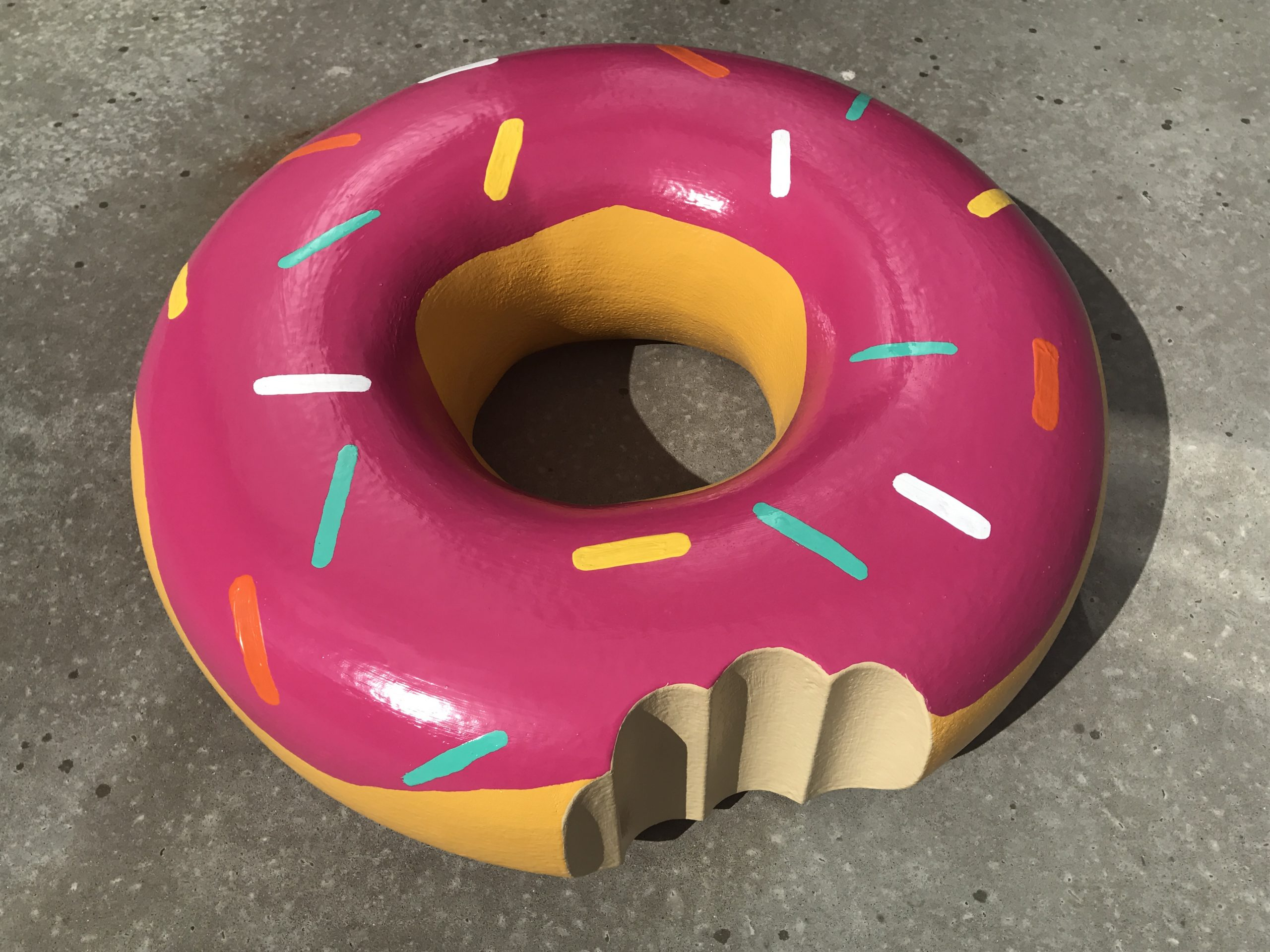 Blow-up donut