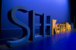Grote piepschuim 3D letters