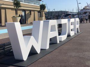 Grote 3D piepschuim letters
